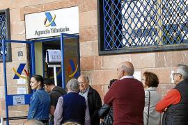 Hacienda recaudará 70 millones menos en Balears con la Renta por la pandemia