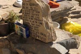 Sant Antoni retira 360 kilos de residuos de Punta Galera donde habitaba una persona