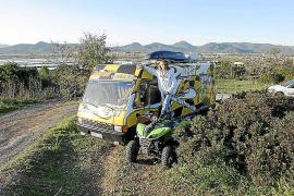 Medi Ambient multa a Pocholo con 350 euros por conducir en quad por ses Salines