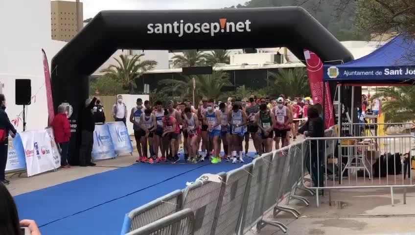 El 5K Platja d'en Bossa ya tiene ganadores