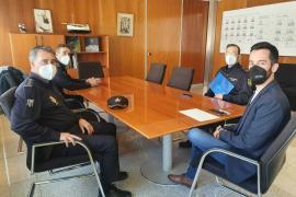Consell y Policía Nacional colaboran en programas de participación ciudadana