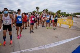 La 5k Platja d'en Bossa, en imágenes. (Fotos: Marcelo Sastre)