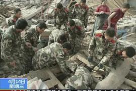 Al menos 400  muertos y 8.000 heridos  en un terremoto de 7,1 grados en China