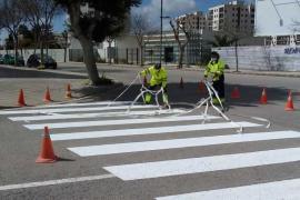 Vila renueva la señalización a 15 calles de la ciudad