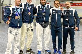Cuatro medallas para la isla