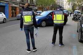 Dos detenidos por secuestrar a un hombre tras un incidente de tráfico en Palma