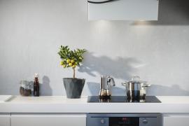 Reformar la cocina pequeña.