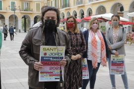 Sant Jordi volverá a tomar las calles de Palma