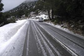 Nueva entrada de aire frío y posibilidad de nieve en la Serra
