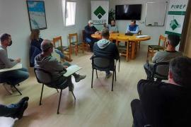 Descontento entre los empresarios de Es Pujols por el retraso de las obras en la zona