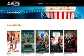 Formentera pone en marcha una web de adquisición de entradas para el cine y eventos culturales