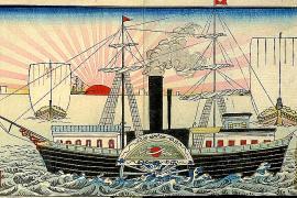 Dibujos para los marineros de 'Baleares'