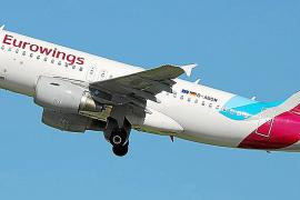 Las restricciones en Alemania provocan un 75% de cancelaciones de vuelos en mayo en Ibiza