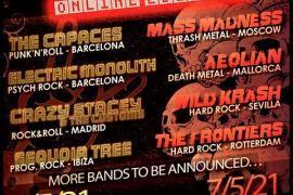 Can Rock Festival se celebrará el 6 y 7 de mayo en formato virtual con 14 bandas de todo el mundo
