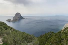 Una de las postales más famosas de Ibiza
