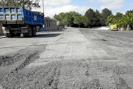 El Consell asfalta la pista insular de exámenes de conducir