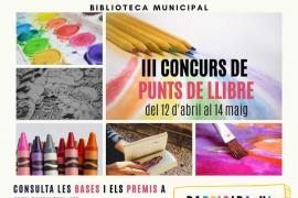 Sant Antoni celebra Sant Jordi con su concurso de puntos de libro, puestos de libros de segunda mano y cuentacuentos