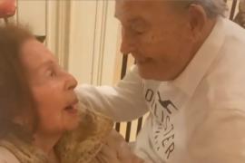 Ana Obregón comparte el reencuentro de sus padres tras recibir el alta