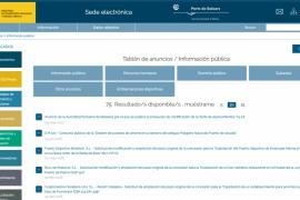 Autoridad Portuaria omite datos de Marina Ibiza que sí ofrece de Marina Botafoch