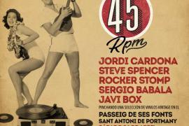 Llega a Sant Antoni el primer 'Vermut a 45 rpm'