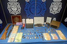 Desarticulada una banda de ladrones que robó más de 20.000 € en casas de Mallorca