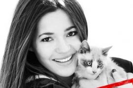 Malena Costa amadrina la campaña 'Ponte en su piel' de la  Sociedad Protectora de Animales