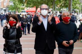 Campaña del PSOE en Puente de Vallecas