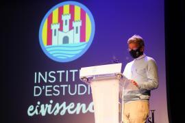 Menciones de Sant Jordi 2021 del Institut d'Estudis Eivissencs, en imágenes.