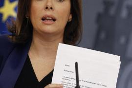 El Gobierno recurre ante el Constitucional el euro por receta de Cataluña
