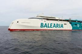 Baleària comunicará Ibiza con Palma con del primer 'fast ferry' del mundo propulsado con motores de gas natural