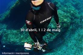 El II Open Cazafotosub Apnea se celebra este fin de semana en Formentera