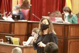 Armengol se muestra convencida de que a través del diálogo el Estado devolverá a Baleares el IVA que le debe