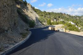 Sant Josep finaliza la reparación de la carretera de es Cubells a ses Boques