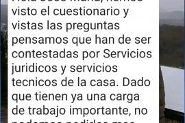 Las preguntas que Rafa Ruiz «declinó» contestar por exceso de trabajo