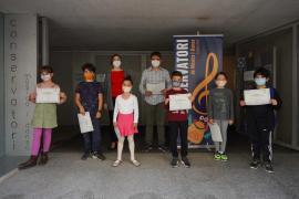 Premios en el Conservatorio