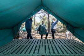 Mejoras para la nueva temporada del campamento de Cala Jondal