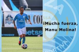 Escriba un mensaje de ánimo al jugador de la UD Ibiza Manu Molina