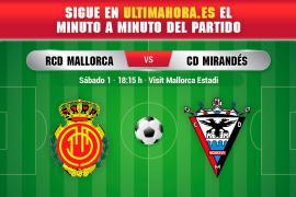 DIRECTO | Real Mallorca - Mirandés