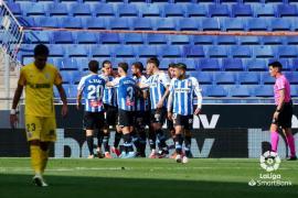 El Espanyol arrolla al Málaga y se queda a un partido del ascenso