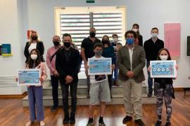 Tres escolares de Vila premiados en el concurso infantil de dibujo de Aqualia