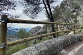 Las nuevas barreras de madera de la Serra