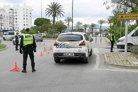 Un conductor cuadruplica la tasa de alcohol en Sant Antoni cuando circulaba con un permiso «no válido»