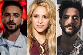 Maluma, Shakira y Camilo