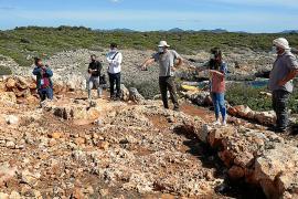 Los arqueólogos definen en Manacor los límites de la fortificación más antigua de Mallorca
