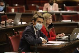 C's consuma su rebelión en Baleares y presentan a Pérez-Ribas como portavoz en el Parlament