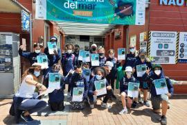 Cerca de 300 escolares de la isla disfrutan de la XXVI 'Setmana del Mar' del Club Nàutic Sant Antoni