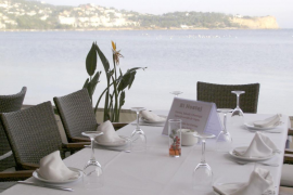 Restaurante y hotel El Hostal en Talamanca, Ibiza Eivissa