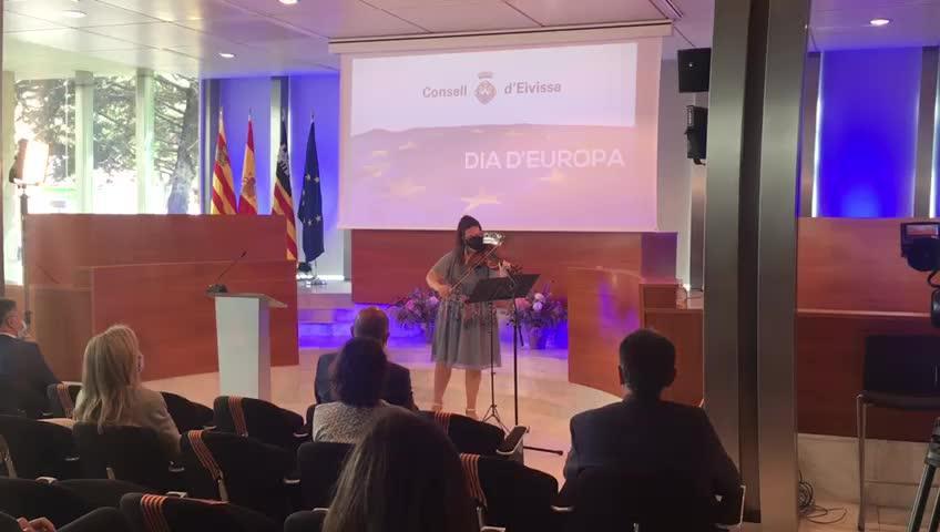 El Consell d'Eivissa celebra el Día de Europa en Ibiza