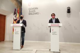 Iago Negueruela y Juan Pedro Yllanes, en rueda de prensa