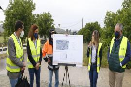 Inician las obras de mejora del firme de la carretera de sa Pobla a Alcúdia